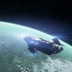Anflug auf den wirklich grünen Planeten