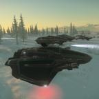 Invasion Microtech Landeanflug